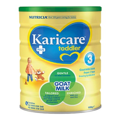 Nutricia Karicare + Goat Growing Up Milk (From 1 Year) - 800g