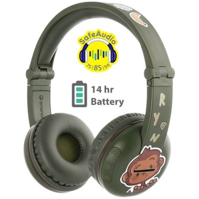 onanoff BuddyPhones PLAY - Green Amazon