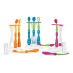 Nuby Oral Care Set (4 Stage) - Yellow/Orange