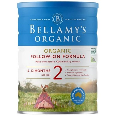 Bellamy's Organic Follow-On Formula 2 (6-12 months) - 900g