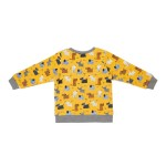 Cotton Pigs Organic Reversible Jumper - Colourful Dogs