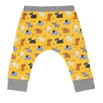 Cotton Pigs Organic Reversible Pants - Colourful Dogs