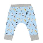 Cotton Pigs Organic Reversible Pants - Funny Cats