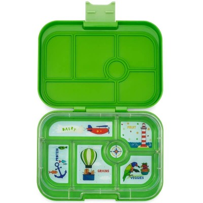 Yumbox Original - 6 Compartment - Cilantro Green