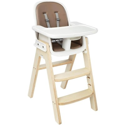 OXO Tot Sprout Chair - Taupe / Birch