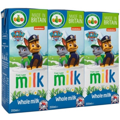 Appy Kids Co. Paw Patrol Whole Milk 3 x 200ml