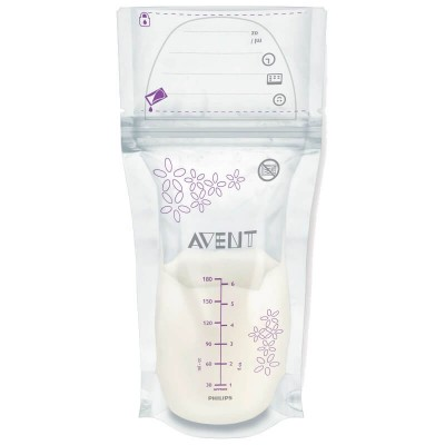 Philips Avent Breast Milk Storage Bags 180ml x 25bags