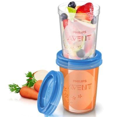 Philips Avent Food Storage Cups 240ml (5 Pack)