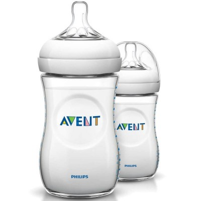 Philips Avent Natural PP Bottle 260ml/9oz - Twin Pack