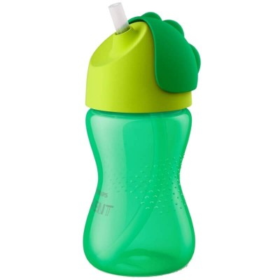Philips Avent Straw Cup 300ml (12mos+) - Green