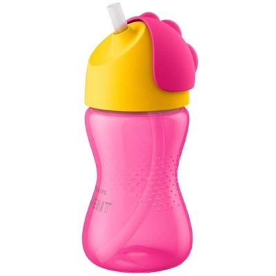 Philips Avent Straw Cup 300ml (12mos+) - Pink