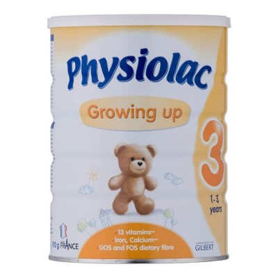 Physiolac Infant Formula 3, 900g (1-3years)