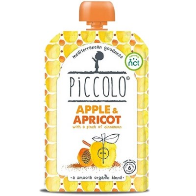 Piccolo Apple & Apricot with a Pinch of Cinnamon 100g (6mos+)