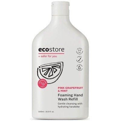 Ecostore Pink Grapefruit & Mint Foaming Hand Wash 500ml Refill