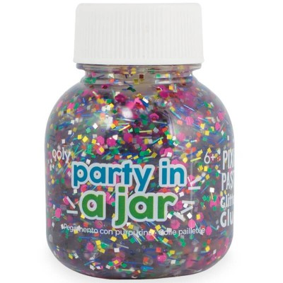 Ooly Pixie Paste Brush-on Glitter Glue - Party in A Jar