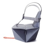 bombol Pop-Up Booster & Carry Bag/Seat Cover - Denim Blue
