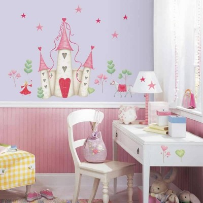RoomMates Princess Castle Giant Wall Decal