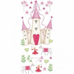 RoomMates Princess Castle Giant Wall Decal - YH1328M
