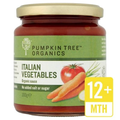 Peter Rabbit Organics Pumpkin Tree Organics Italian Vegetables Pasta Sauce 300g