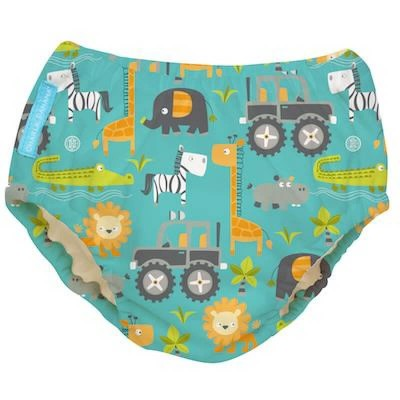 Charlie Banana Reusable Swim Diaper - Gone Safari