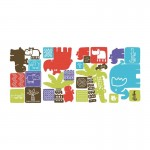 RoomMates Safari Blocks Wall Decals