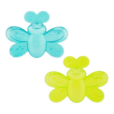Sassy Baby Water-Filled Teethers (2 pcs) - Blue/Green