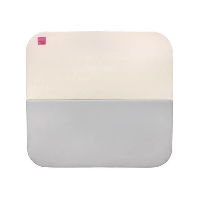 Haenim Toy Signature Baby Room Folder Mat - Beige/Grey (109 x 109 x 4 cm)