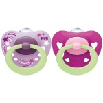 NUK Signature Night Silicone Soother