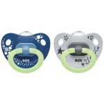 NUK Happy Nights Silicone Soother