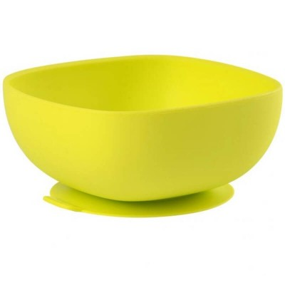 Beaba Silicone Suction Bowl - Neon