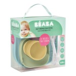 Beaba Silicone Suction Meal Set - Pastels