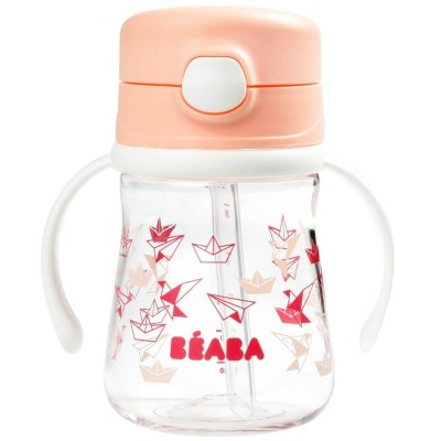 Beaba Sippy Cup 240ml - Pink