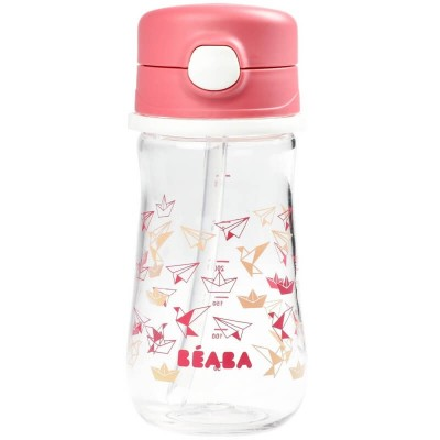 Beaba Sippy Cup 350ml - Dark Pink