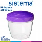 Sistema Fruity Bites To Go™ 520ml (color may vary: Blue/Green/Pink/Purple)