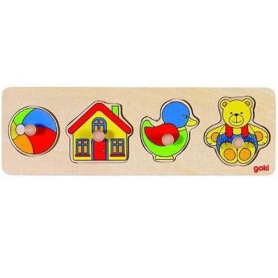 Goki Small Lift-Out Puzzle - Toys