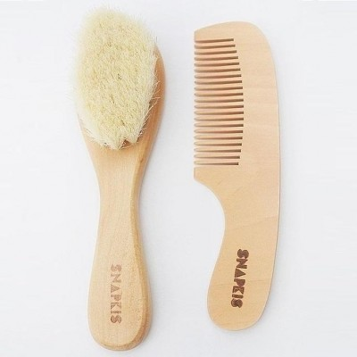 Snapkis Baby Brush & Comb Set