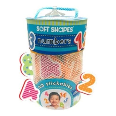 Innovative Kids Soft Shapes Tub Stickable - Numbers