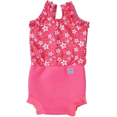 Splash About Happy Nappy Costume - Pink Blossom