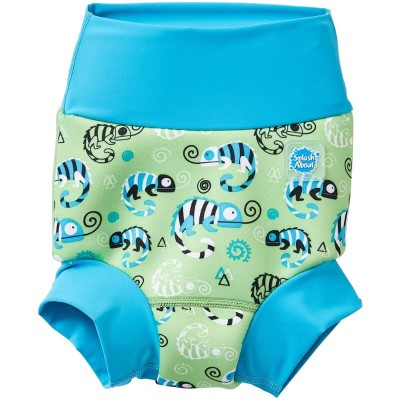Splash About New Happy Nappy - Green Gecko