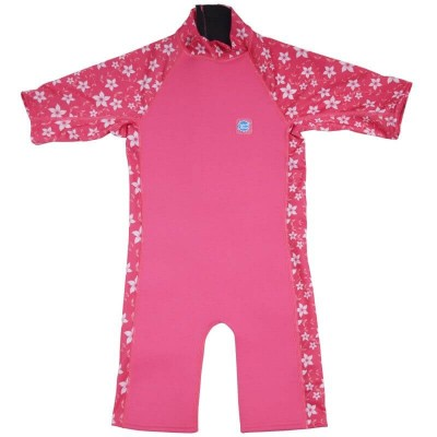Splash About UV Sun & Sea Suit - Pink Blossom