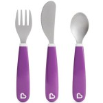 Munchkin Splash Toddler Fork, Knife & Spoon Set