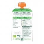 Piccolo Spring Greens, Pear & Apple with a Hint of Mint 100g (6mos+)