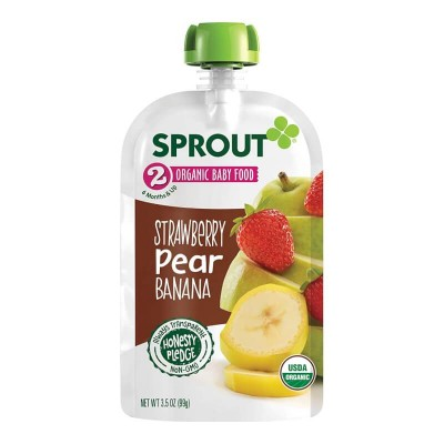 Sprout Organics Strawberry Pear Banana