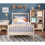 Babyletto Sprout Platform Twin Bed - Washed Natural / White