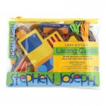 Stephen Joseph Lacing Card Set - Transportation