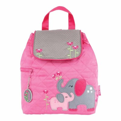 Stephen Joseph Quilted Backpack - Elephant