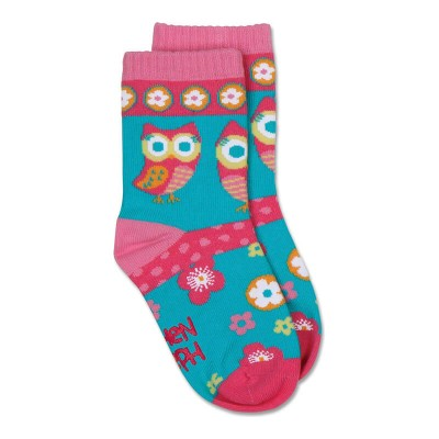 Stephen Joseph Toddler Socks - Owl (Large)