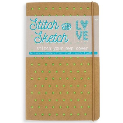 Ooly Stitch & Sketch Notebook – Green
