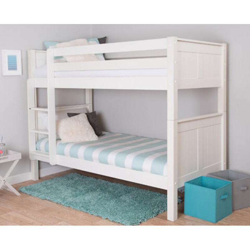 Classic Single Bed With Trundle Bed By Stompa: Stompa Classic Kids Bunk Bed
