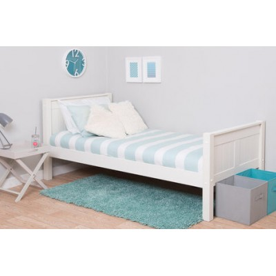 Stompa Classic Kids Single Bed - White